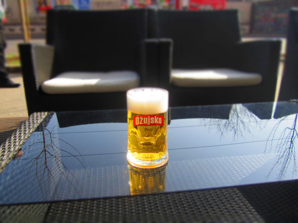 Pivo for one, please.