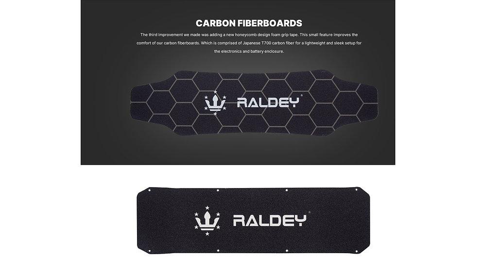 Raldey electric skateboard deck