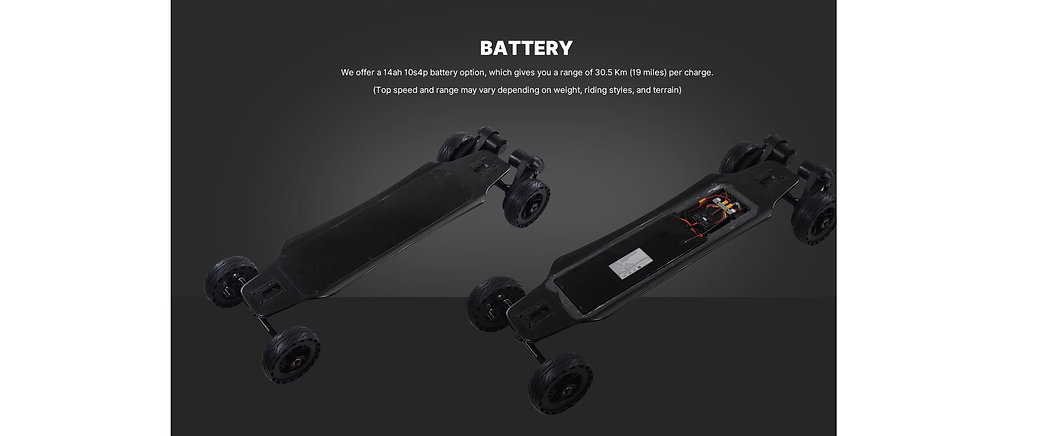 electric skateboard battery