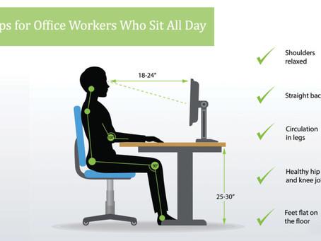 Healthy Desk Sitting