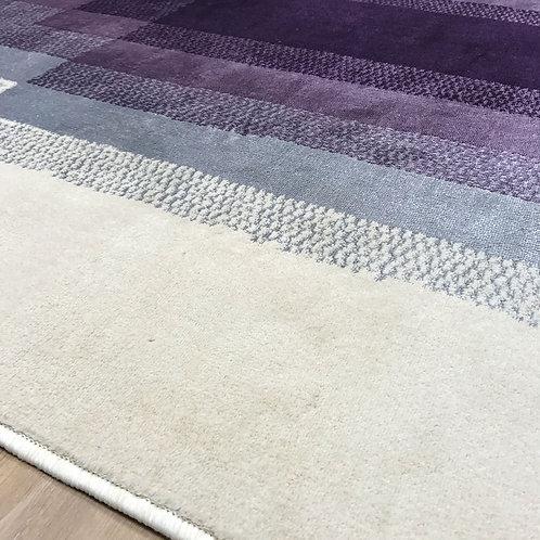 Dream Cream & Purple Centre Pattern 160x230cm