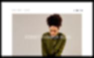 Homepage for a street fashion blog.
