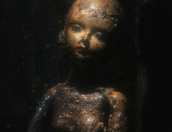 The destroyed doll.
