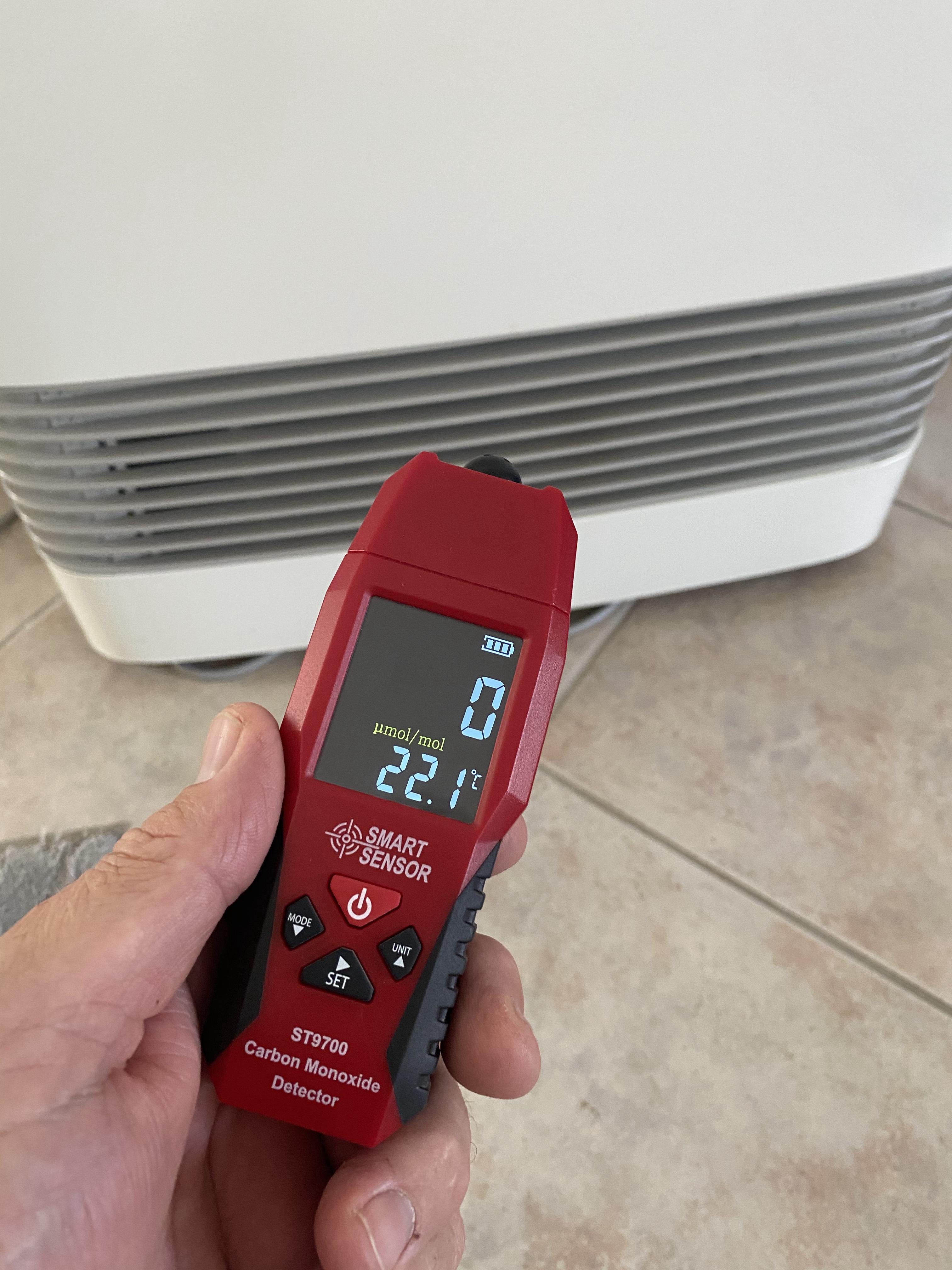 Carbon Monoxide Appliance Test $90+gst