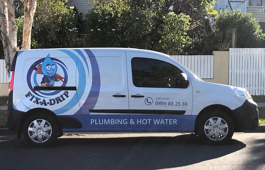 Fix A Drip Service Van
