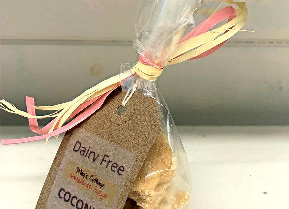 Coconut Dairy Free Fudge