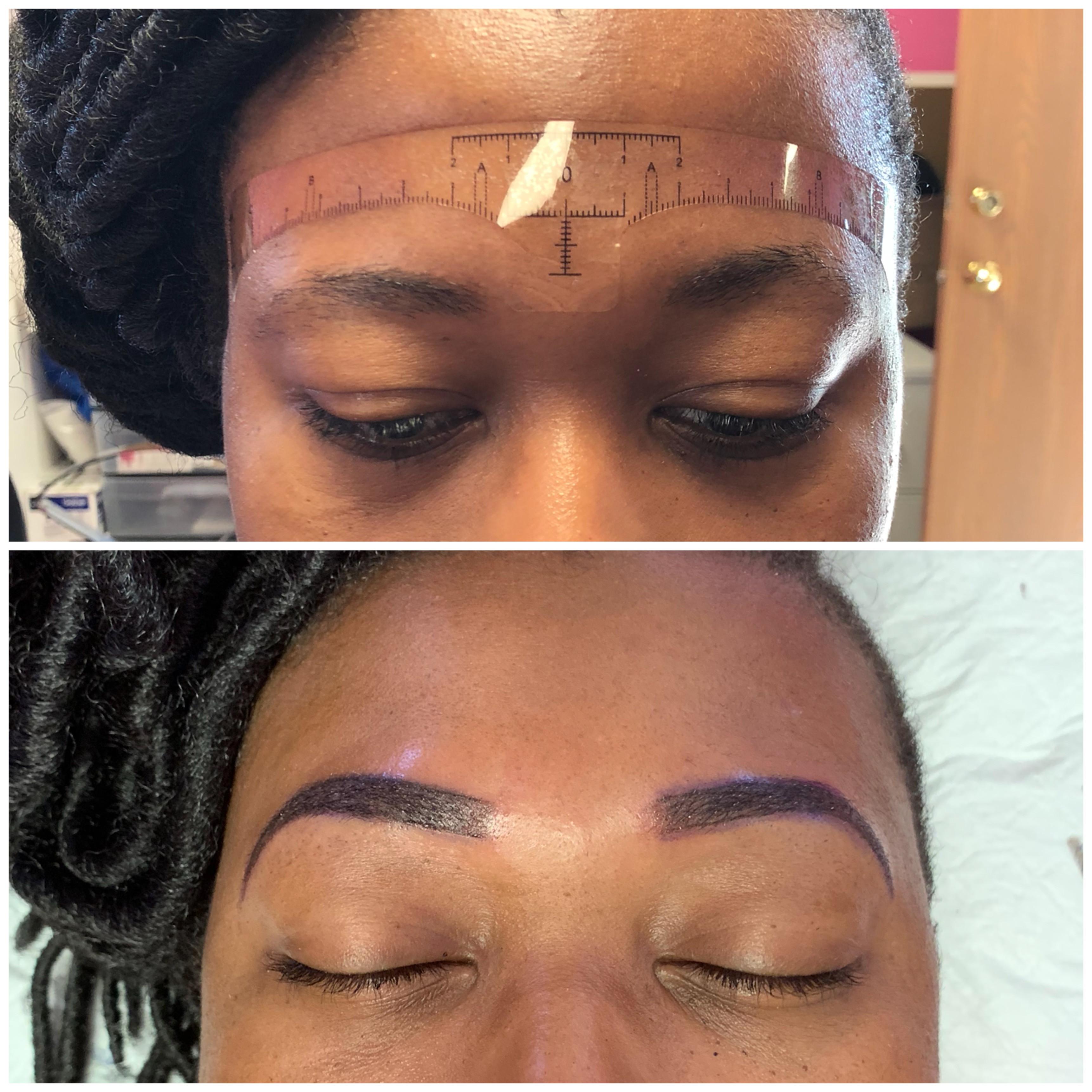 Microshading Eyebrow Full Service