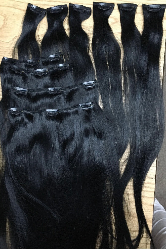 Clip-In Extensions Install