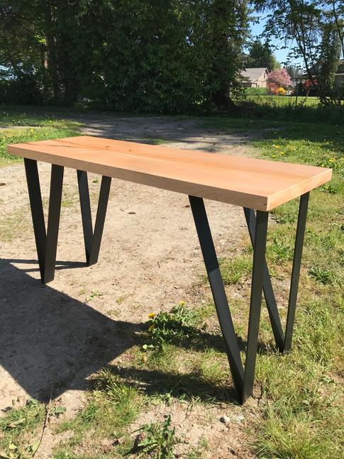 Maple Slab Desk