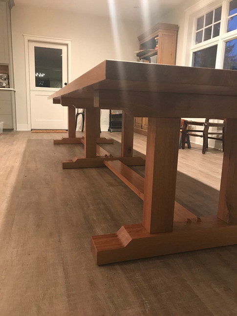 14' French Monestary Inspired Dining Table