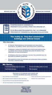Postcard for Elite Building Diagnostics