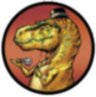 Dapper Dinosaur Tyranasaurus Rex Tea Rex