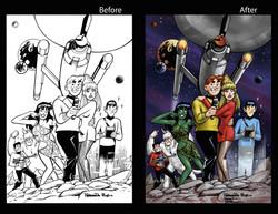 Archie Star Trek Homage