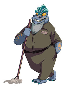 Just a Janitor