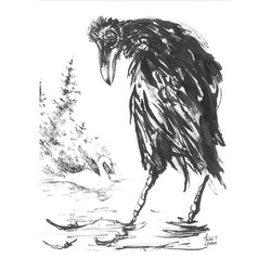 Aesop's Fable about the Swan and the Crow