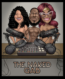 The Naked Gab Podcast Cover