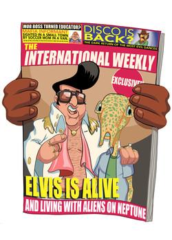 Elvis is back.