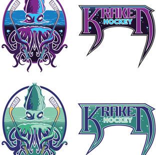 Kraken Hockey Logo