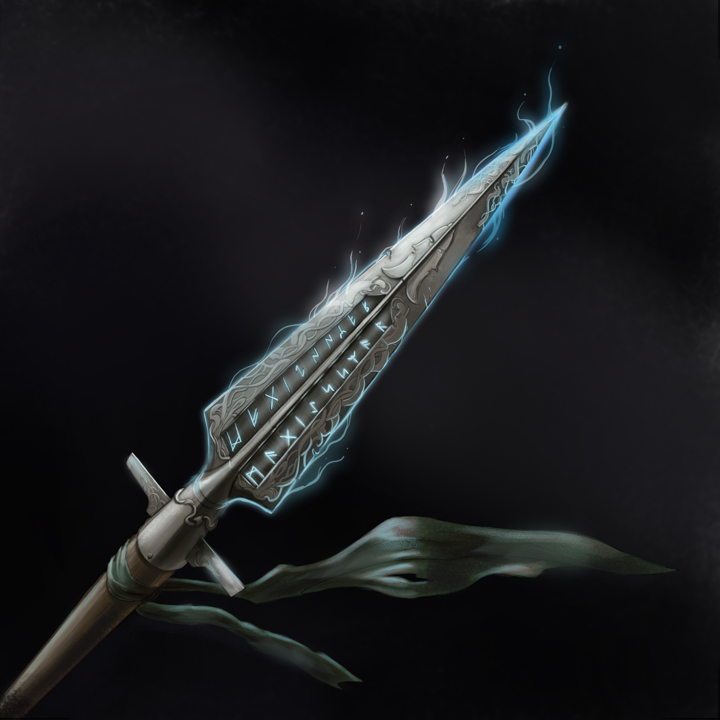 Magical Norse Spear