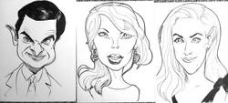4 Minute Caricatures