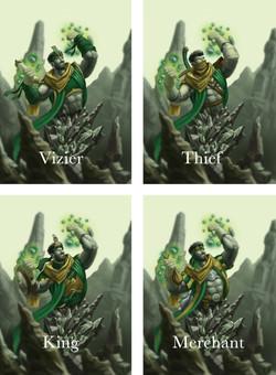 4 Types of Rock Djinn