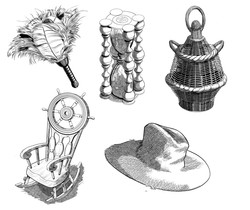 Illustrations for Magical Objects Set 3