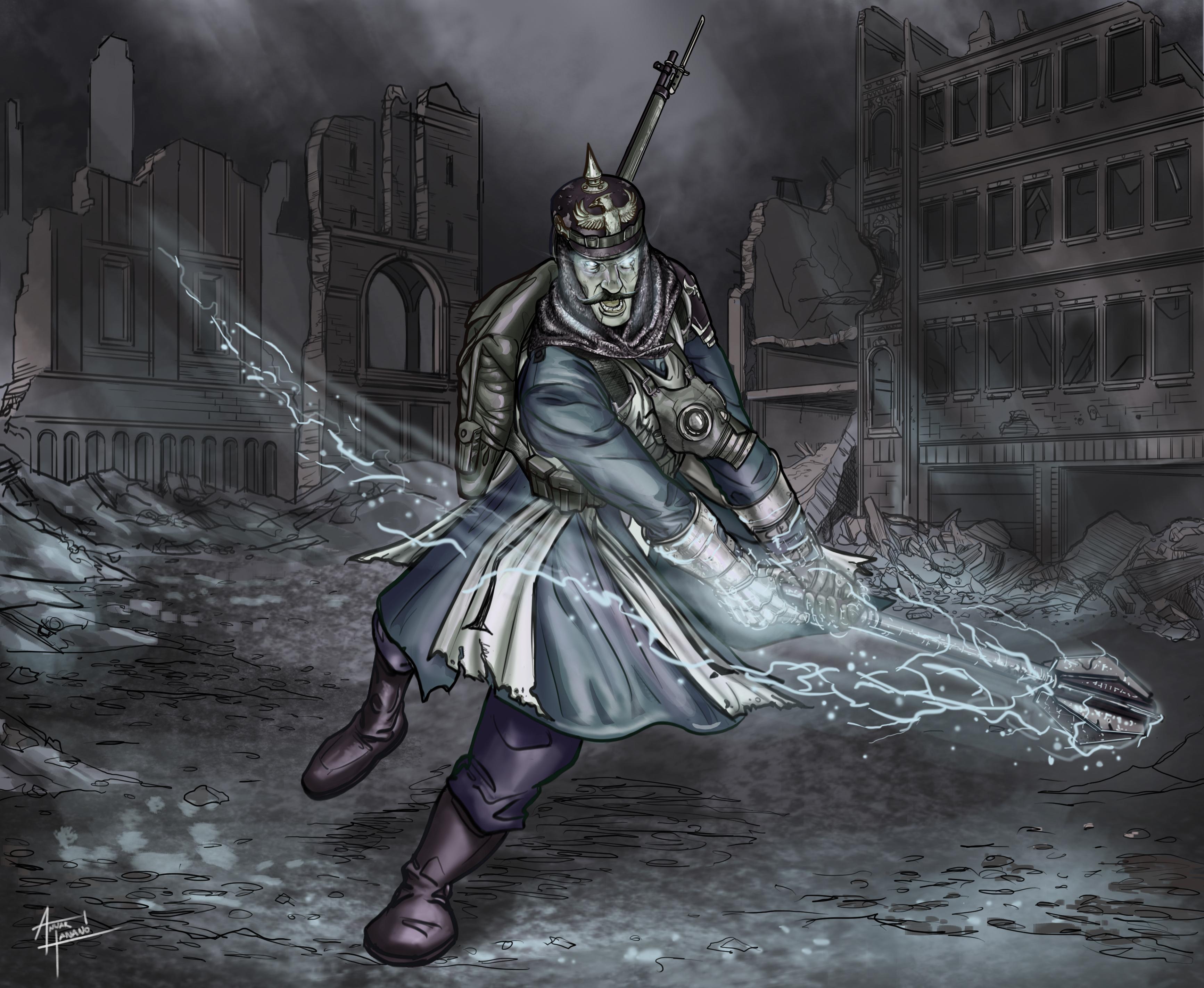 Prussian Battlecaster