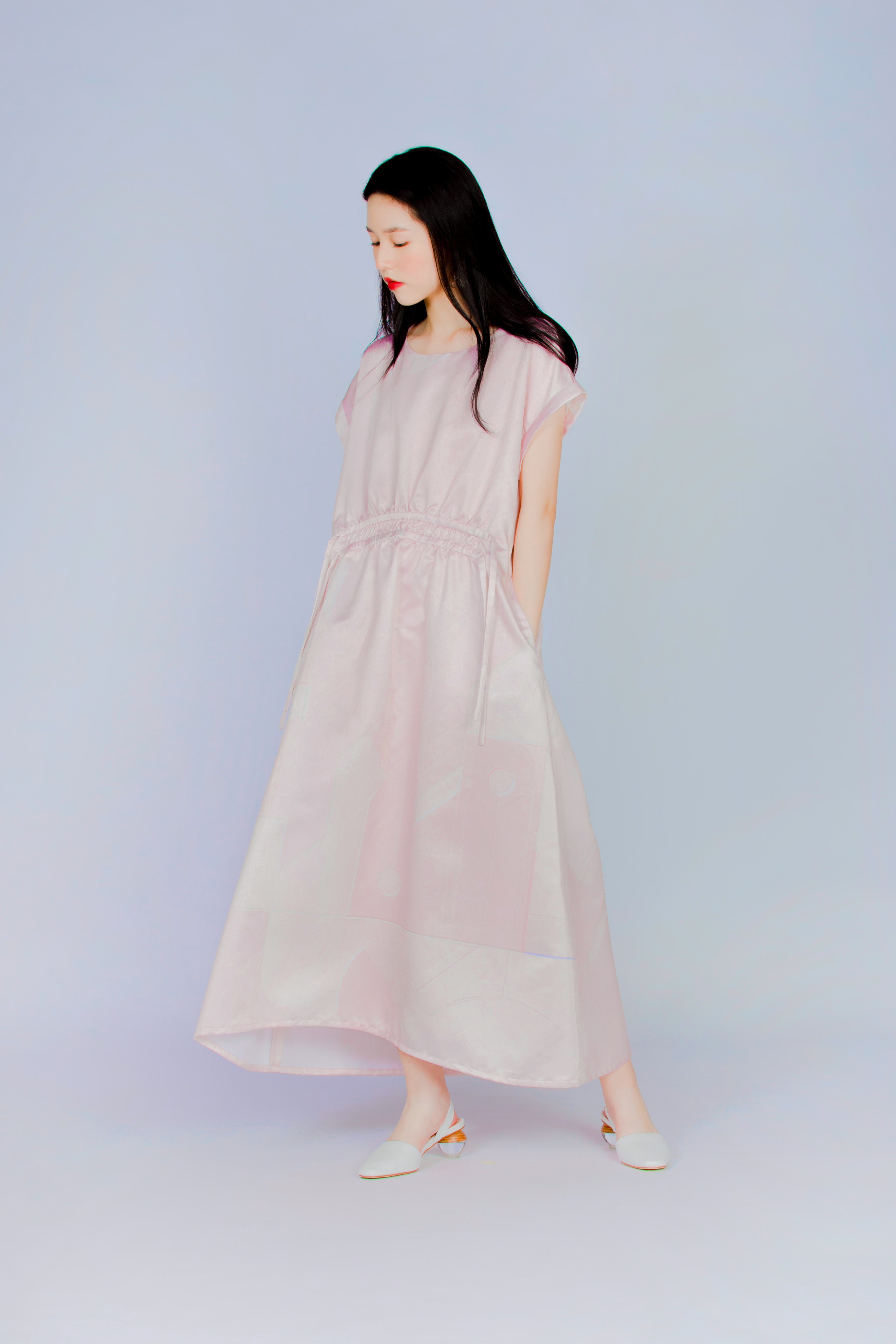 赤磁矩 - 褶皺洋裝