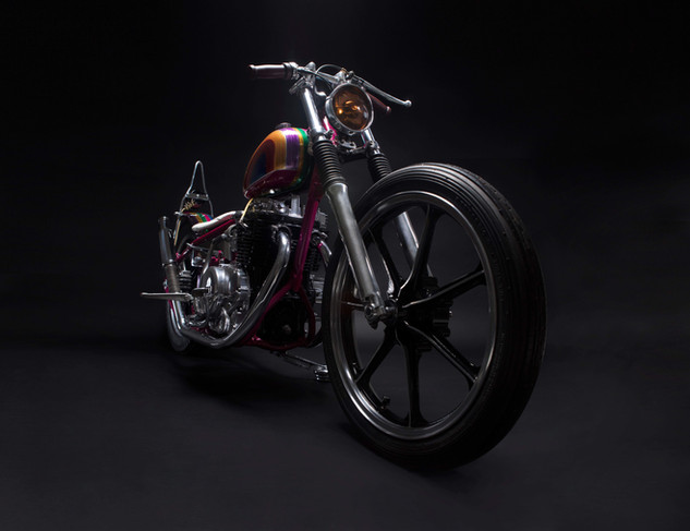 Bobber moto _ chile _ studio7 _ Foto Rod