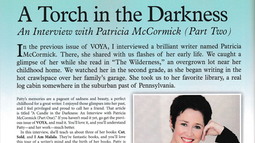 Part 2, VOYA Interview