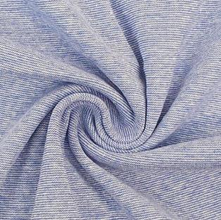 B12 blau melange Streifen