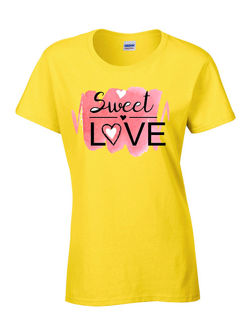 T-Shirt-Sweet Love