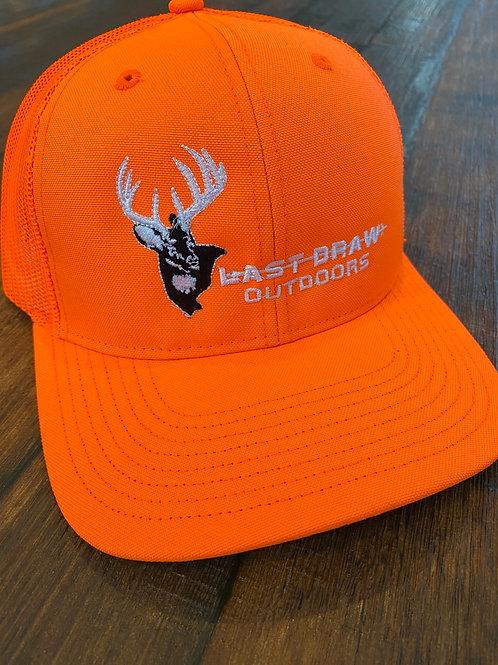 Last Draw Blaze Orange Richardson 112 hat