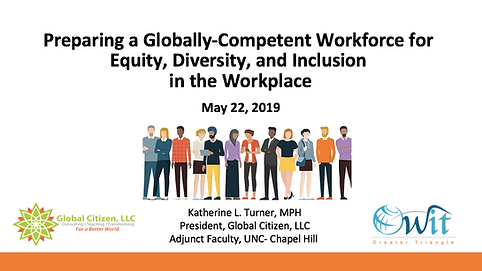 Preparing a Globally-Competent Workforce