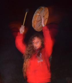 Trommeln. Schamanische Retreat Lanza