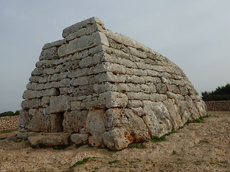 The Navetas in Menorca symbolizes the ship of the dead. Spiritual Travel with Maha Metta