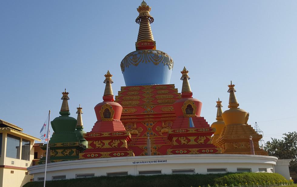 Ein tibetische temple
