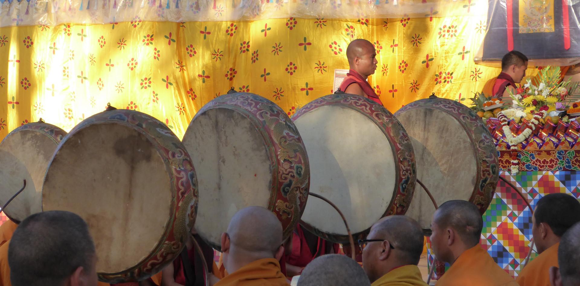 Tibetan ceremony