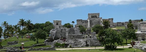 Zona arqueológica de Tulúm, México. Viajes Mahametta
