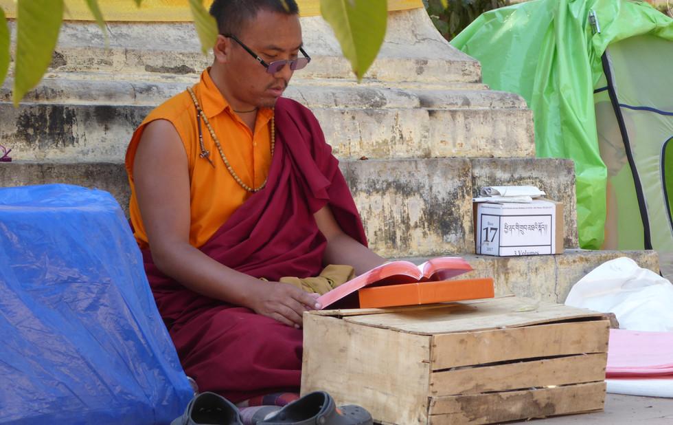 Tibetische Monch