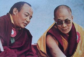 Karmapa und Dalai Lama