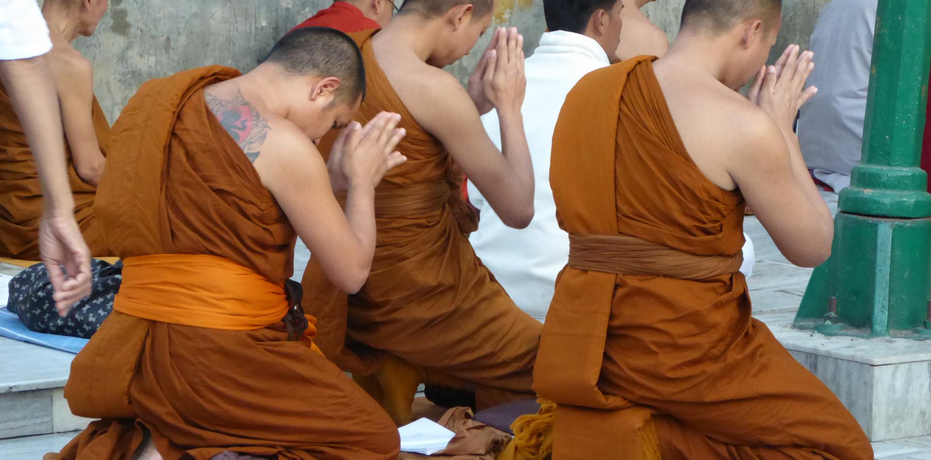 Mönche aus Burma