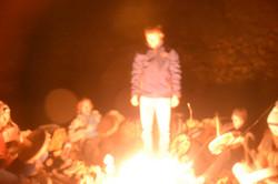 Ritual in der Nacht. Schamanische R.