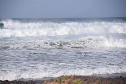 Meer in Lanzarote. Retreat in Dezemb