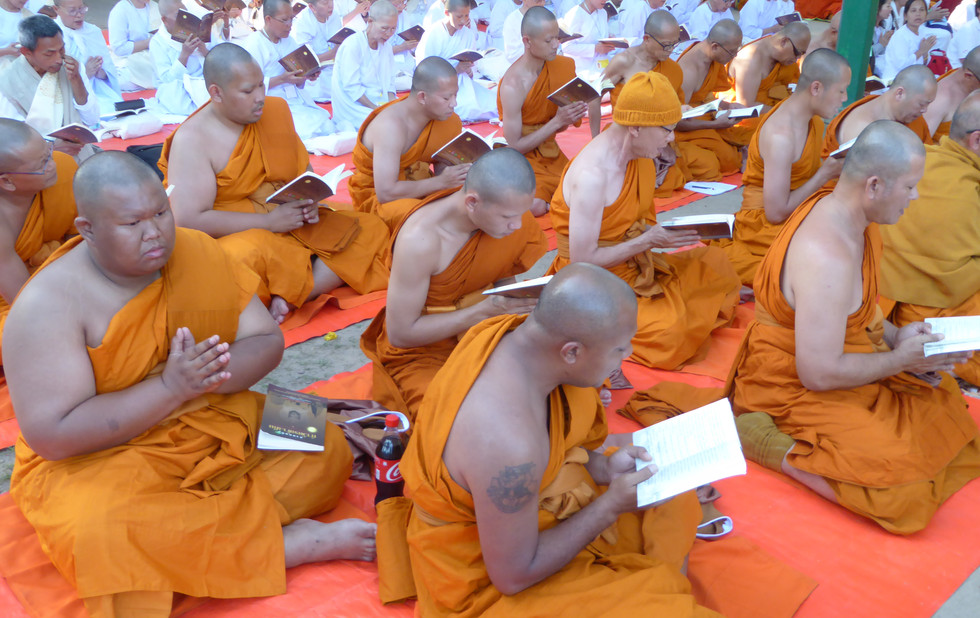 Mönche aus Thailand