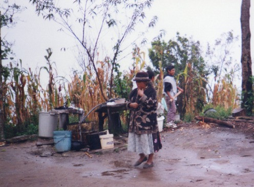 Shamans in Totontepec, Mexico