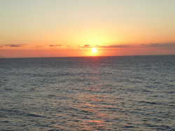 Sonneuntergang in Cala N´Blanes