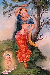 Maya. Madre de Gautama Buda. Taller de Meditación Budista con la Academia Mahametta