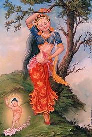 Maya. Gautama Buddha´s Mutter. Buddhistisches Meditationsseminar mit Mahametta