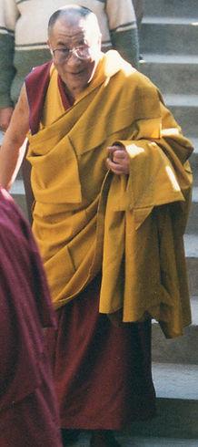 1996 Dharamsala. Dalai Lama